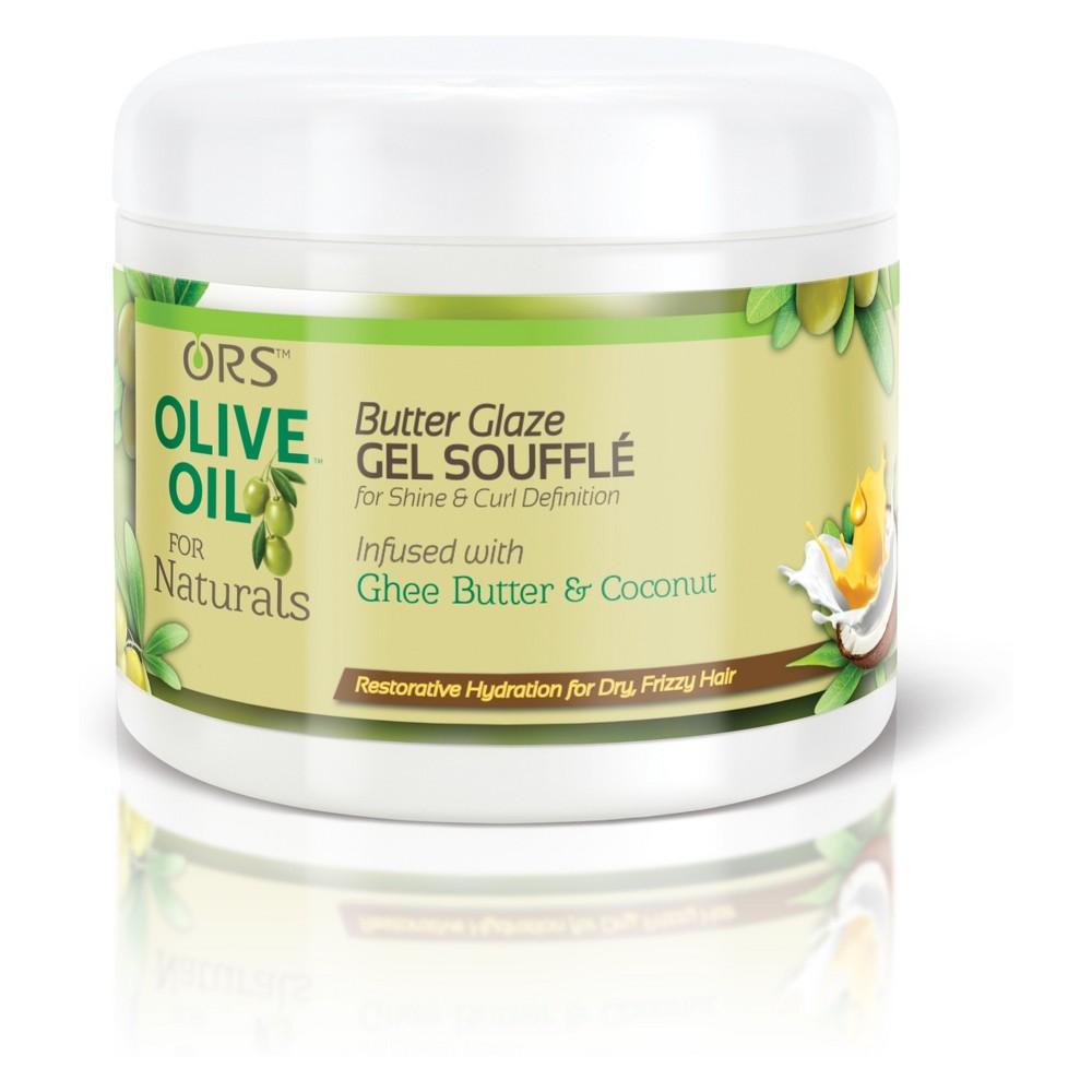 Ors Olive Oil For Naturals Butter Glaze Gel Souffle - 12oz