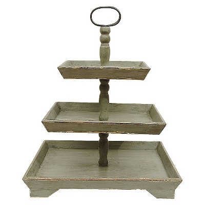 Tray 3Tiers -White (25-1/4 )