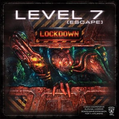 Level 7 - Escape, Lockdown Expansion Board Game