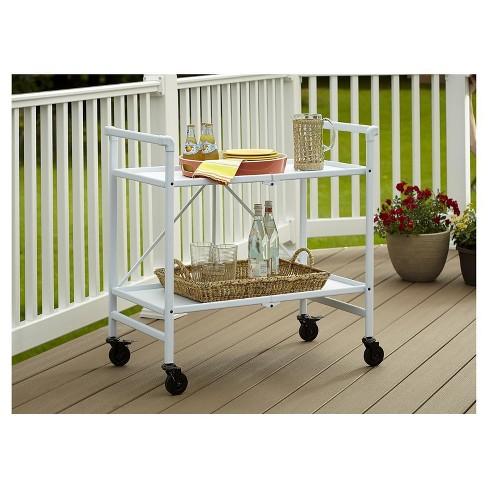 Indoor/Outdoor Folding Serving Cart - Cosco - image 1 of 4