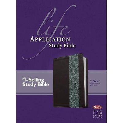 Life Application Study Bible-NKJV - (Leather Bound)