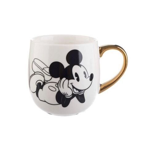 08455649b74b4 Mickey Mouse & Friends Mickey Mouse Porcelain Mug 16oz - Gold/White