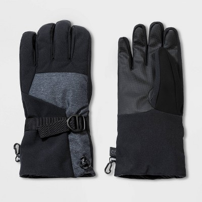 Men's Heavy Poly Ski Gloves - All in Motion™ Black