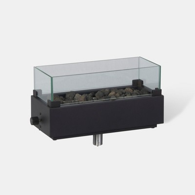 Two Harbors 14  Tabletop Fire Pit - Black - Project 62™