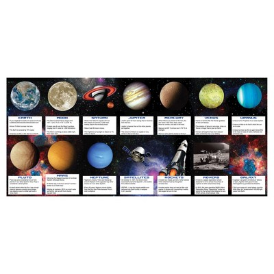 14ct Space Blast Favor Fact Cards