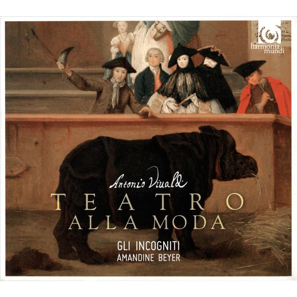 Gli Incogniti - Vivaldi:Il Teatro Alla Moda (CD)