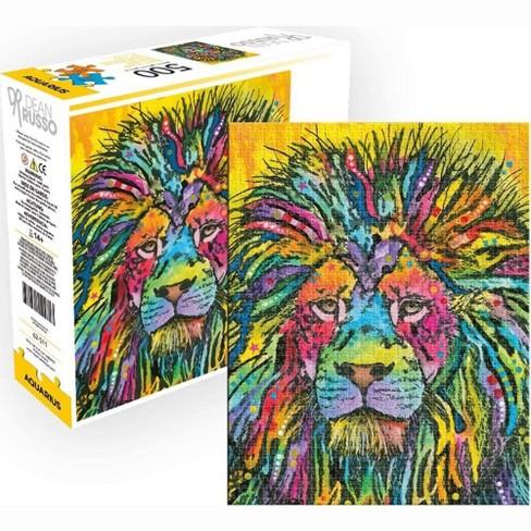 NMR Distribution Dean Russo Lion 500 Piece Jigsaw Puzzle - image 1 of 4