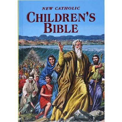 New Catholic Children's Bible - by Thomas J Donaghy (Hardcover)