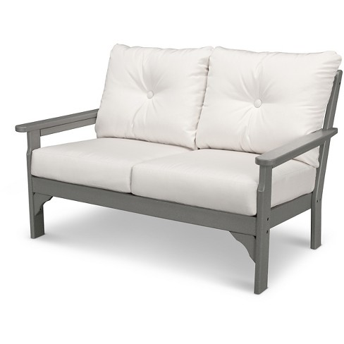 POLYWOOD® Vineyard Deep Seating Settee - Pollywood® - image 1 of 2