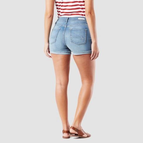 02c6012eb4cd DENIZEN® From Levi's® Women's High-Rise Jean Shorts - Medium Wash ...