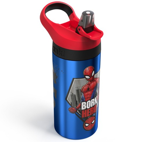 Marvel Spider-Man 19.5oz Stainless Steel Water Bottle Blue/Red - image 1 of 3