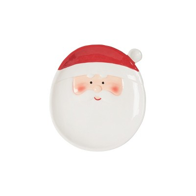 C&F Home Santa Clause Dinner Plate