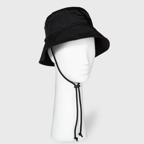 Women's Utility Bucket Hat - Wild Fable™ Black - image 1 of 2