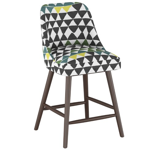 """27"""" Geller Modern Counter Height Barstool Geometric Triangle - Project 62™ - image 1 of 4"""