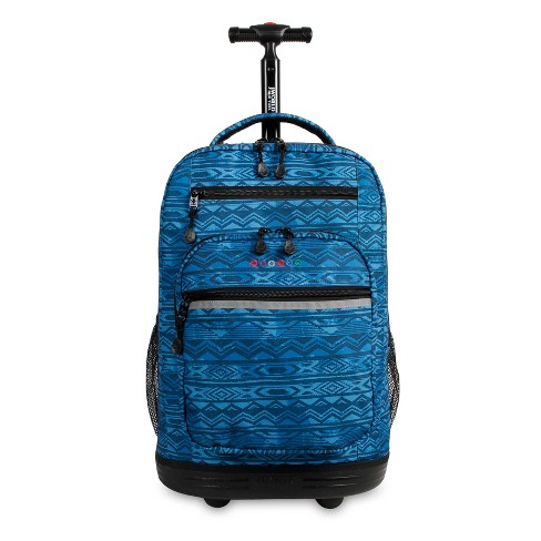 "J World 20"" Sundance Laptop Rolling Backpack - Watermark - image 1 of 4"
