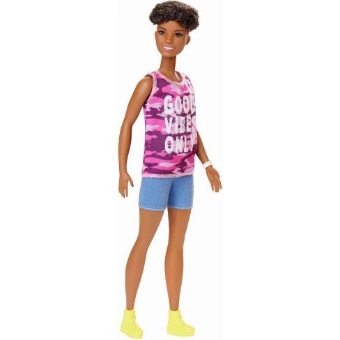Barbie SHIRT Black W//  White STAR PRINT Top New