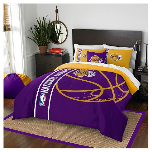 Los Angeles Lakers Northwest Full Comforter Set - image 1 of 1