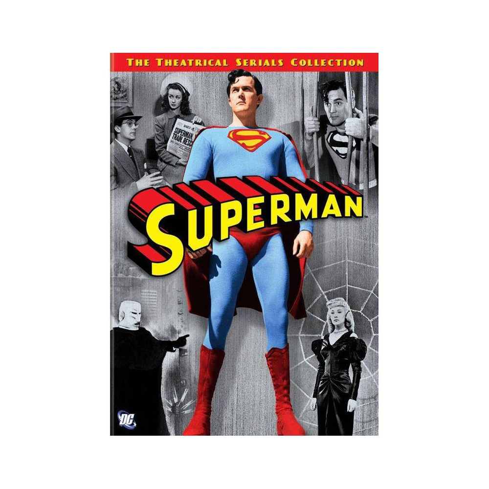 Superman The Theatrical Serials Collection Dvd 2006
