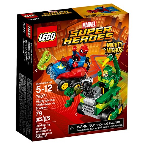 LEGO® Super Heroes Mighty Micros: Spider-Man vs. Scorpion 76071 - image 1 of 9