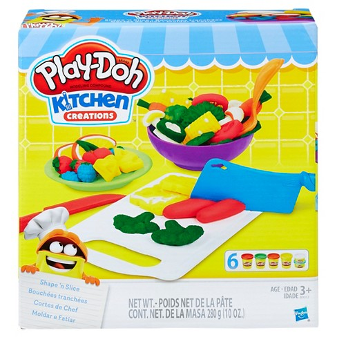 play doh kitchen creations shape n slice - Kitchen Creations