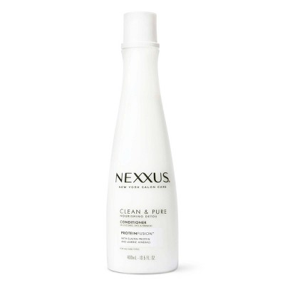 Nexxus Clean and Pure Conditioner Nourished Hair Care with ProteinFusion - 13.5 fl oz