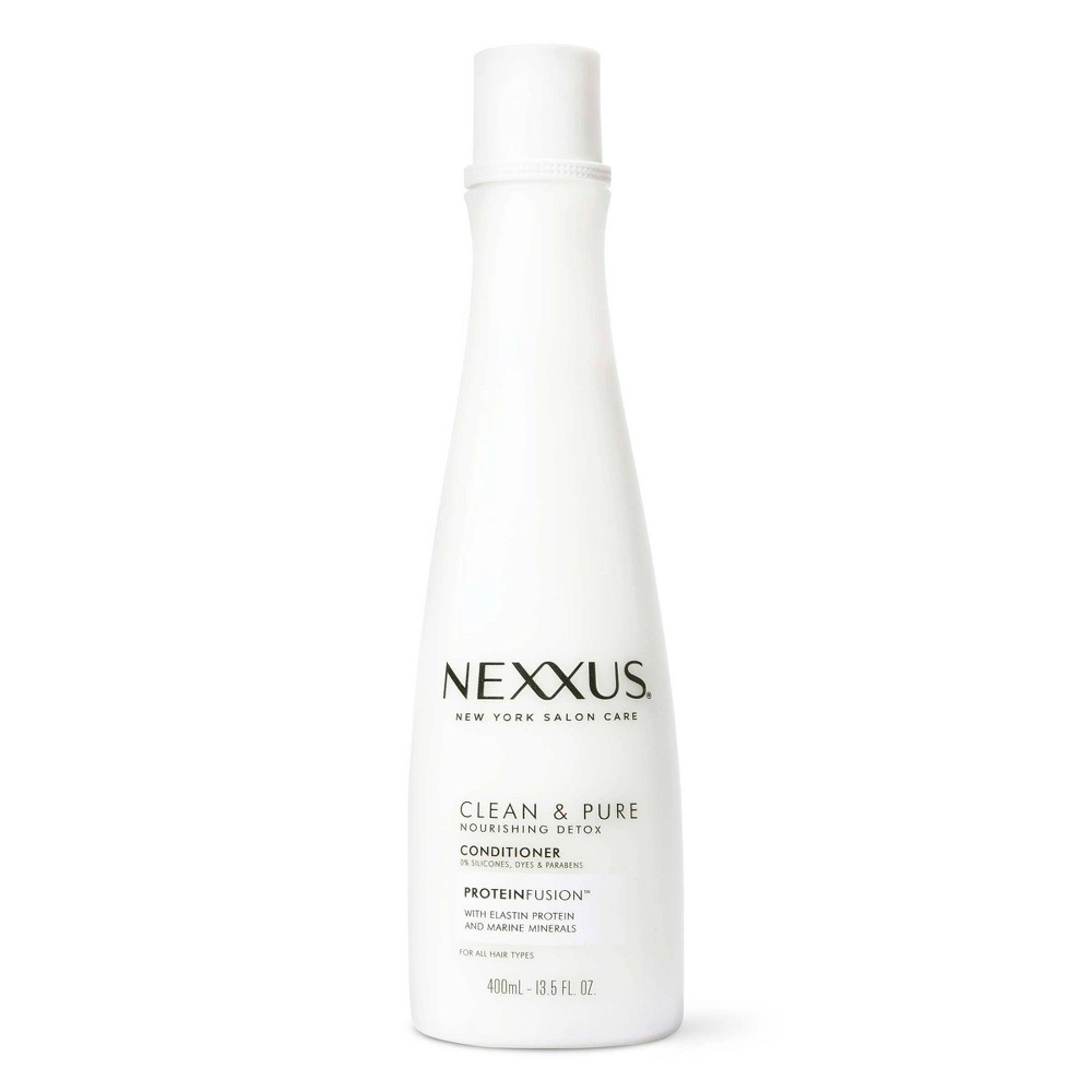 Nexxus Clean And Pure Conditioner Nourished Hair Care With Proteinfusion 13 5 Fl Oz