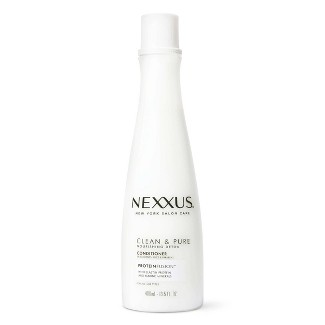 Nexxus Clean And Pure Conditioner Nourished Hair Care With ProteinFusion - 13.5 Fl Oz : Target