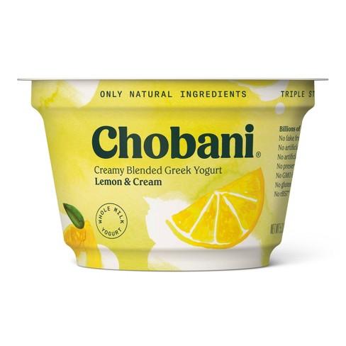 Chobani Lemon and Cream Blended Greek Yogurt - 5.3oz - image 1 of 1