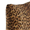 Brown Leopard Spot Throw Pillow - Skyline Furniture - image 3 of 4