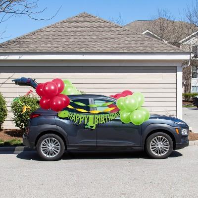 Dinosaur Birthday Parade Car Party Decoration Kit