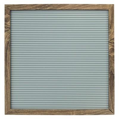 Letterboard Decorative Wall Art Set Light Blue 14 x14  - New View