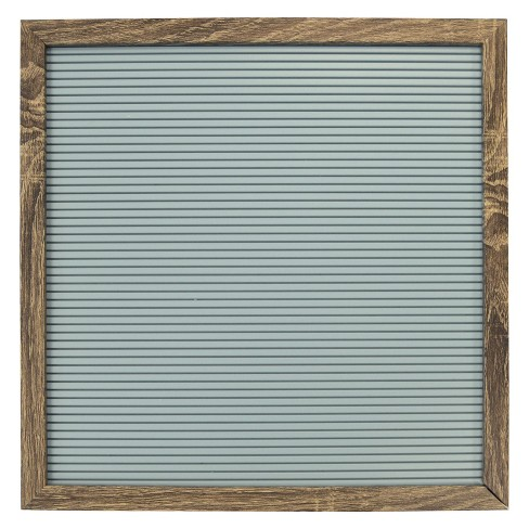 "Letterboard Decorative Wall Art Set Light Blue 14""x14""  - New View - image 1 of 2"