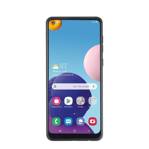 Consumer Cellular Postpaid Samsung A21 (32GB) - Black - image 1 of 4