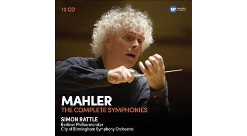Simon Rattle - Mahler:Symphonies (CD) - image 1 of 1