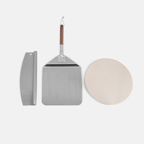 Stone Set with Pizza Peel and Pizza Cutter KSF1204- Royal Gourmet - image 1 of 4