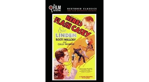 Here's Flash Casey (DVD) - image 1 of 1