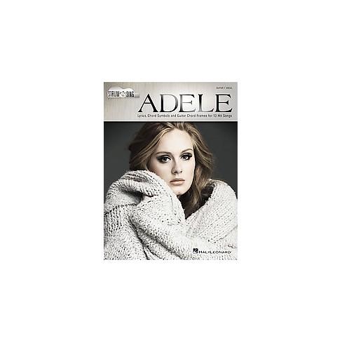 Adele Lyrics Chord Symbols And Guitar Chord Frames For 13 Hit