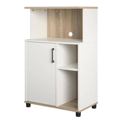 Canturbury Microwave Stand White - Room & Joy