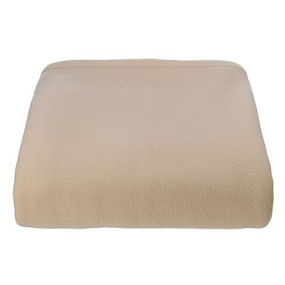 Super Soft Fleece Blanket - Sand (King)