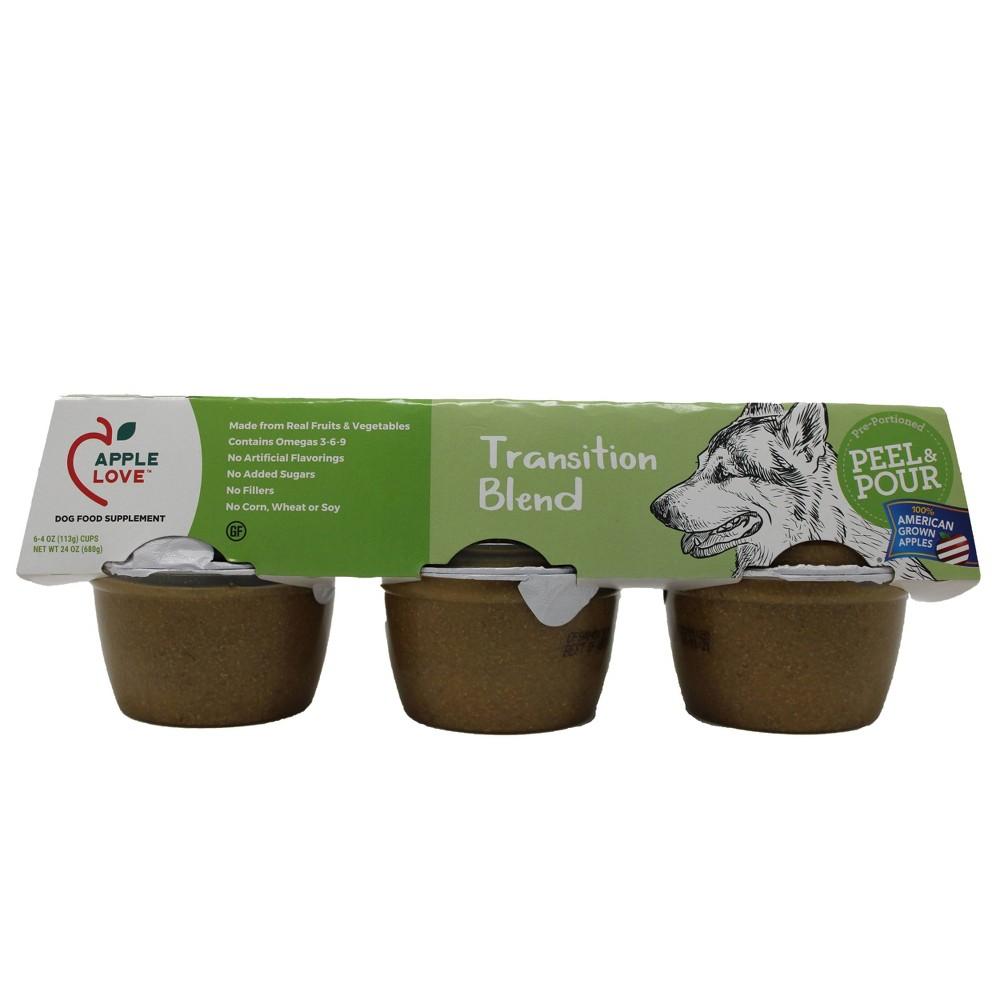 AppleLove Wet Dog Food Supplement Transition Blend - 4oz/6ct Pack Buy