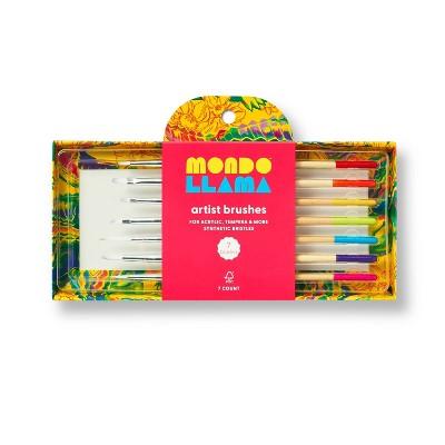 7pc Artist Paintbrush Set - Mondo Llama™