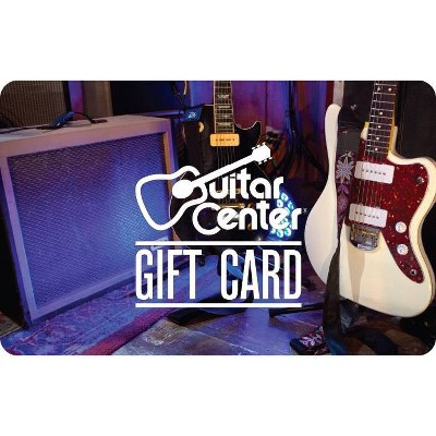 Guitar Center $50 (Email Delivery)