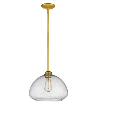 Pendant with Clear Seedy Glass Ceiling Lights - Z-Lite - image 1 of 1