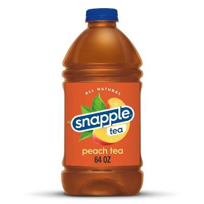 Snapple Peach Tea - 64 fl oz Bottle