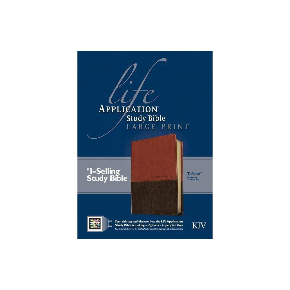 Life Application Study Bible Kjv Large Print Leather Bound