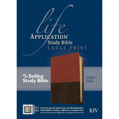 Life Application Study Bible-KJV-Large Print - (Leather_bound) - image 1 of 1