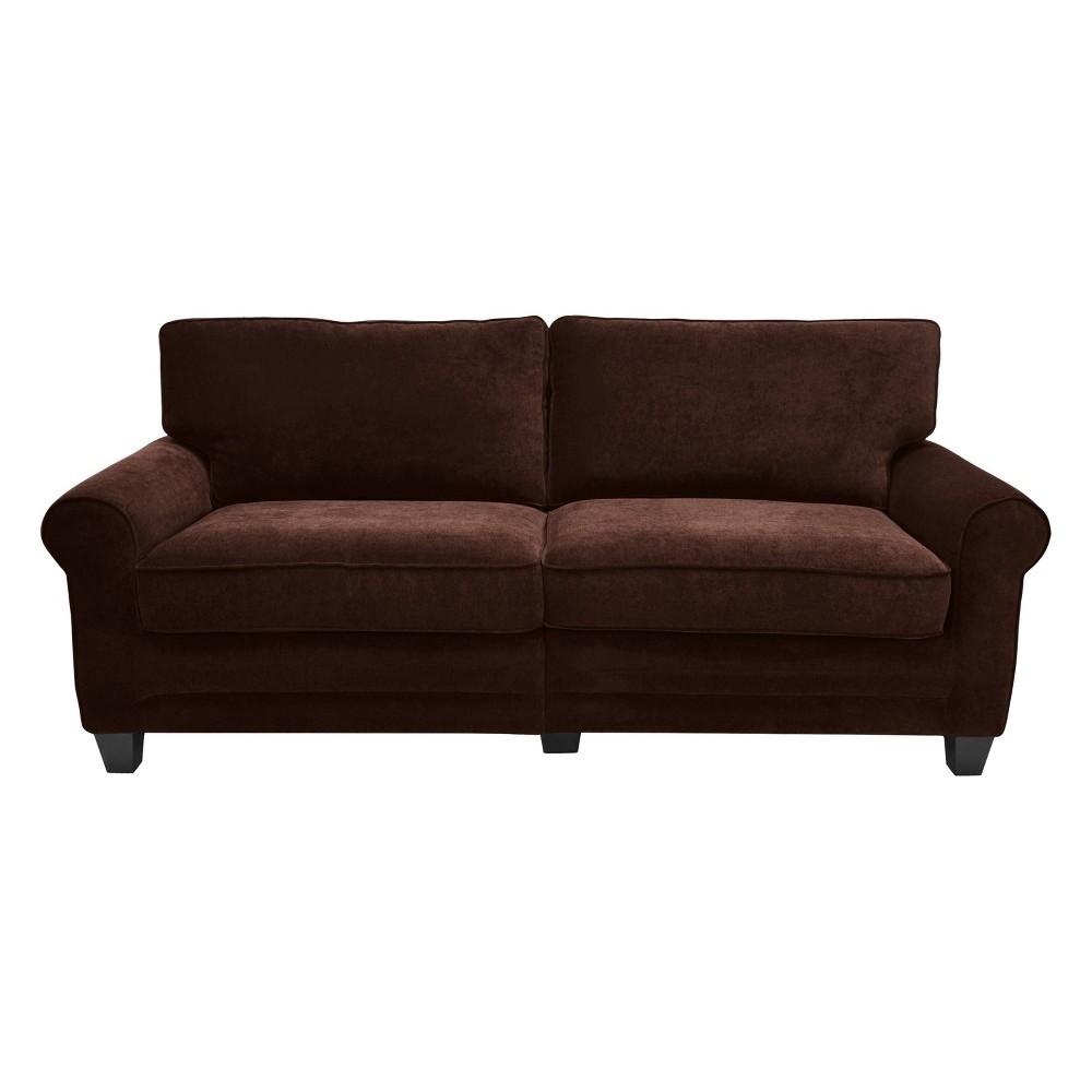 Serta Rta Copenhagen Collection 78 Sofa in Rye Brown, CR43540PB