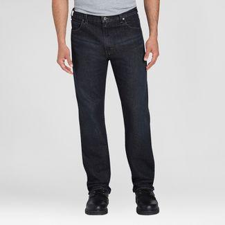 Dickies Mens Regular Classic Straight Fit Jeans - Black 36x30