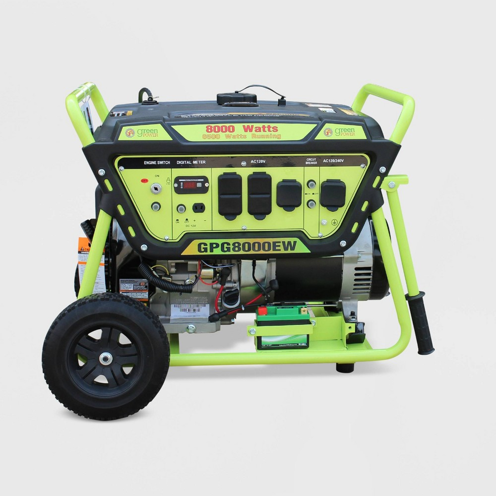 Image of 8000W Generator Green - Green-Power