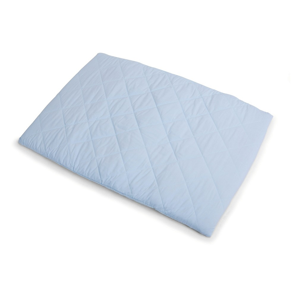 Image of Graco Quilted Pack 'n Play Playard Sheet - Dream Blue